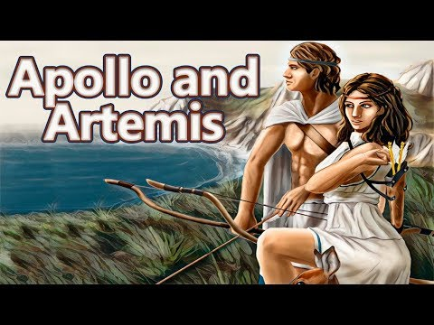 Apollo And Artemis: The Birth Of The Twins Gods - Greek Mythology Stories - See U In History