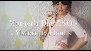 Welcome to my Mothers Day ASOS Maternity Haul. All my favourite pieces for dressing my growing bump with Spring. For model ...