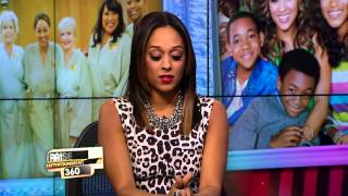 """TIA MOWRY-HARDRICT STOPS BY TO DISCUSS """"INSTANT MOM"""""""