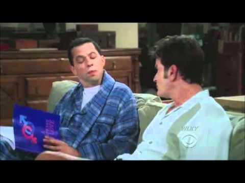 two and a half men  - AND YOUR ADDRESS!
