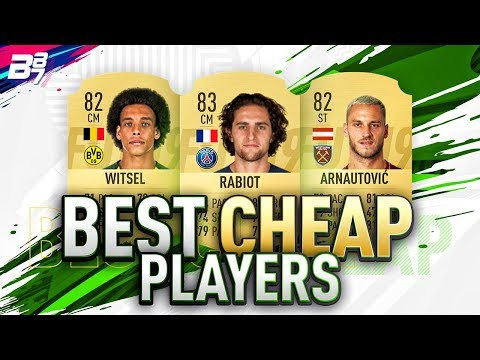 THE BEST CHEAP PLAYERS ON FIFA 19! | FIFA 19 ULTIMATE TEAM