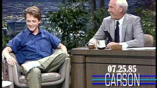 Michael J. Fox's First Appearance On Johnny Carson's Tonight Show- 1985