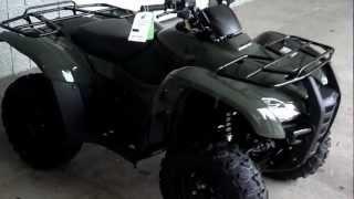 10. SALE: 2013 Honda TRX420 Rancher ATV 4x4 Wholesale ATV's at Honda of Chattanooga in TN