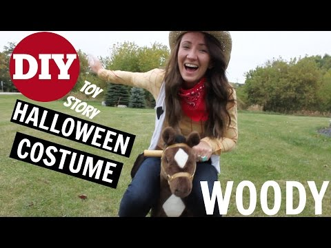 DIY Halloween Costume - Woody from Toy Story