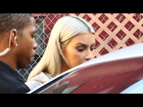 Kim Kardashian Desperately Needs To Touch-Up Her Roots!