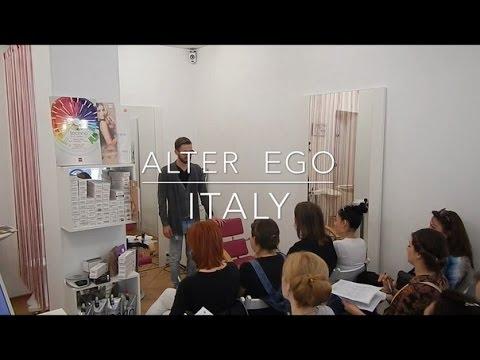 Презентация кератинового красителя Alter Ego Techno Fruit ArtAlex Одесса видео