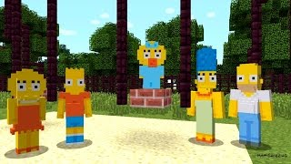 Minecraft - The Simpsons Skin Pack | Official (Xbox One/Xbox 360) Game Trailer (2015)