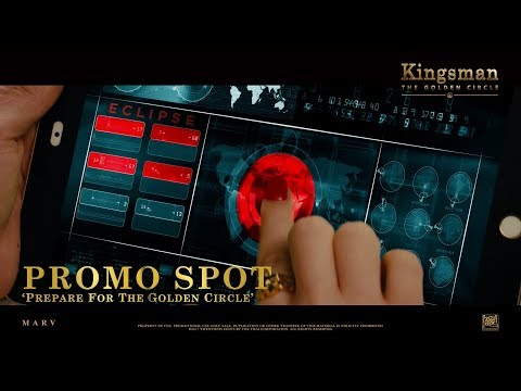 Kingsman: The Golden Circle ['Prepare For The Golden Circle' Promo Spot in HD (1080p)]