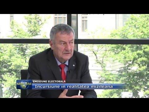 Emisiunea Electorală – 20 mai 2016 – Emil Proșcan