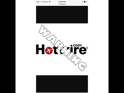 NEVER AGAIN! No Hotwire.com for me!