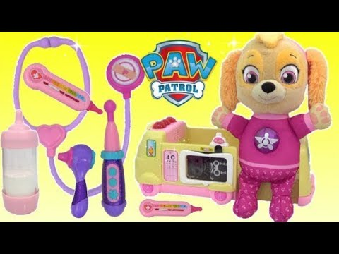 Paw Patrol Skye Visits Doc McStuffins TOY Hospital | Toys Unlimited