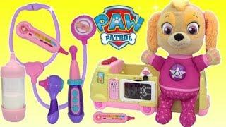 Video Paw Patrol Skye Visits Doc McStuffins TOY Hospital | Toys Unlimited MP3, 3GP, MP4, WEBM, AVI, FLV Maret 2019