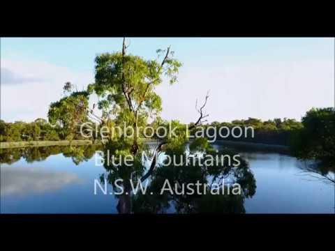 Glenbrook Lagoon, Australia, Mavic Pro Drone