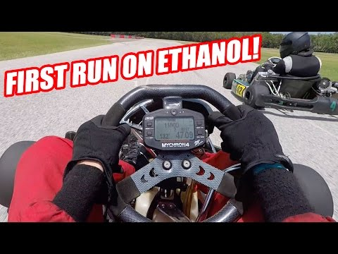 6th Gear Shifter Karting! Small Crash and ETHANOL! (видео)