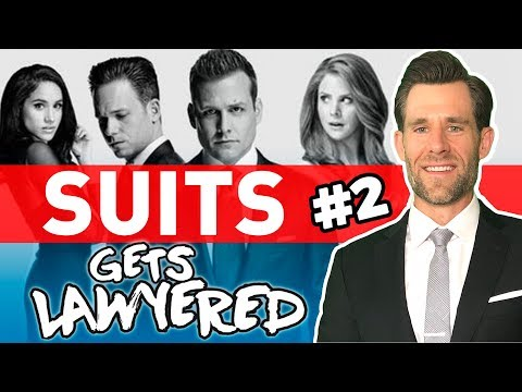 Real Lawyer Reacts to Suits (Episode 2 - Cell Phone Patent Problems!)