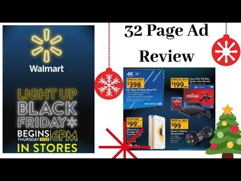 WALMART BLACK FRIDAY FULL HONEST AD REVIEW 2018
