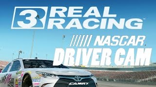 Real Racing 3  - NASCAR  (By Electronic Arts) -  Universal - HD Gameplay Trailer Driver Cam, EA Games, video games
