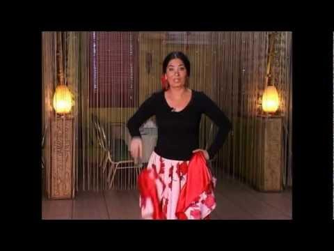 Урок Цыганского танца от  Венеры Ферарь. Смотри видео.