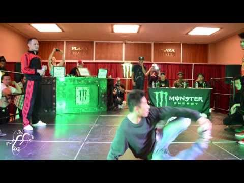 Caster Evolution vs Lotus of War | Bboy Semi's | WOD San Diego | #SXSTV