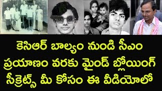 Telanaga cm kcr profile   Mind blowing secrets of his career and personal life
