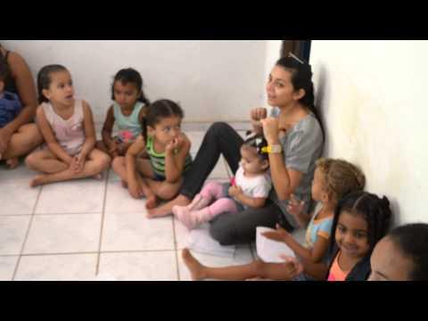 Evangelização Infantil - Projeto Mãos à Obra em Jaguaretama