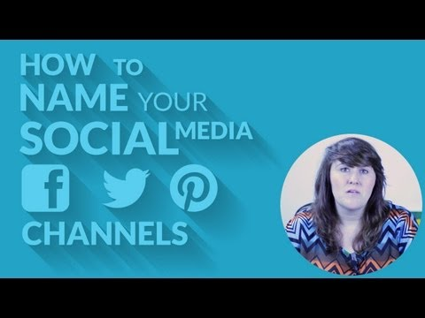 How to Name Social Media Channels | How to Use Social Media with Tracy Fay