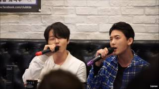 Royal Pirates Moon & Sooyoon performing Sooyoon's first solo single, Angel