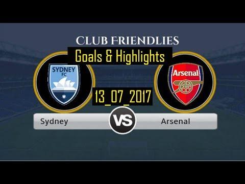 Sydney vs Arsenal All Goals & Highlights - Friendly 13_07_2017 HD