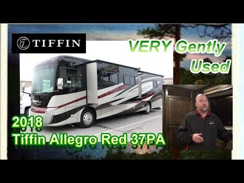 Pre-Owned 2018 Tiffin Allegro Red 37PA | Mount Comfort RV
