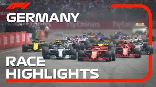 2018 German Grand Prix: Race Highlights