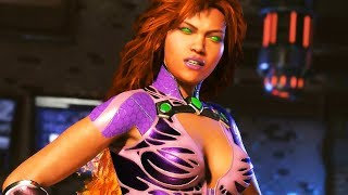 Nouveau personnage à l'honneur sur Injustice 2 avec Starfire. Découvrez le gameplay inédit ainsi que le Super Coup du nouveau perso disponible en août.● Promo -33% PSN & XBOX LIVE CLICK HERE ►https://www.press-start.com/fr/?psr=gmlpromoFILM COMPLET INJUSTICE 2 disponible ici https://www.youtube.com/watch?v=IA0js76JJDsTOUS LES FILMS RÉCENTS 2017 https://www.youtube.com/playlist?list=PLk280nmxFVb5RJEQSTPd5-S22F2rj5Fj7CHAÎNE SECONDAIRE (let's play walkthrough astuces..) https://www.youtube.com/opengml--Editeur : Warner Bros. GamesDéveloppeur : NetherRealm StudiosSortie France : 18 Mai 2017Genre : CombatThèmes : Super Héros, ligue des justiciers, super héros, super vilains, Joker, Flash, Darkseid, Animation--
