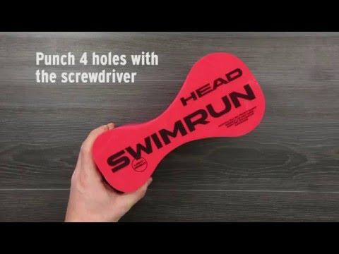 Modifier son pull buoy pour le swimrun - astuces Head