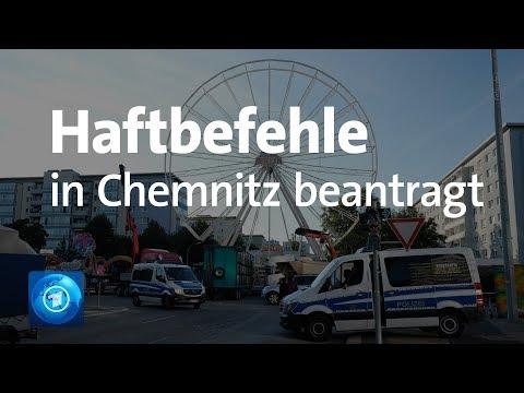 Chemnitz - Haftbefehle gegen zwei Verdächtige beantra ...
