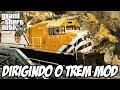 Gta 5 Dirigindo O Trem E O Metro Mod