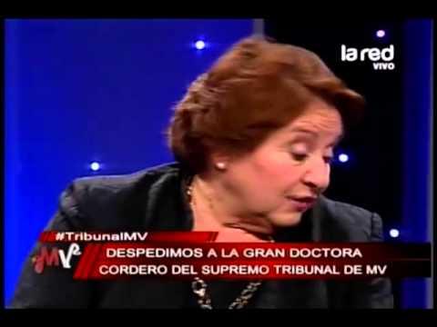 La doctora Cordero se despide de Mentiras Verdaderas
