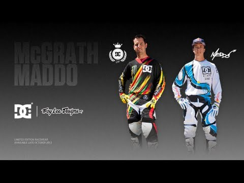 TLD - DC and Troy Lee Designs are proud to present the first two collections in a series of DC athlete-driven, limited edition product collaborations. DC and Troy ...