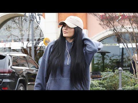 Kylie Jenner Does A Makeup Run In Her Yellow Ferrari