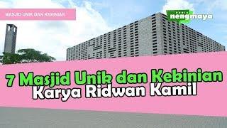 Video 7 Masjid Unik dan Kekinian Karya Ridwan Kamil MP3, 3GP, MP4, WEBM, AVI, FLV Januari 2019