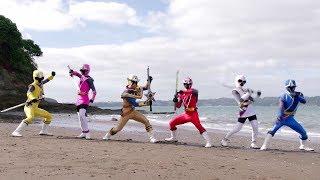 Power Ranger Super Ninja Steel  Rangers vs Doomwawe  Episodio 4 Haciendo Olas
