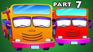 Wheels On The Bus Part 7 with 15 mins Compilation forms the best Kids Rhymes with 3D Animated Videos For Kids available on Rhymes HeroAlso watch gameplay and walkthrough. Enjoy this video as toys come to life! This video targets children, stimulating their imagination with the help of colorful objects. Each episode will help the child develop his or her creativity and logical reasoning. Subscribe: https://www.youtube.com/channel/UCcttXUYRoTqVN6j4oiDysHwLike: https://www.facebook.com/pages/Rhymes-Hero/1086852778013719