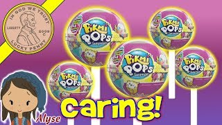 """Pikmi Pops Surprise Toys provided by Moose Toys- Scented Plush Stuffed Animal Toys - Moose ToysWhen we were asked to check these out, we were totally excited to be one of the first YouTube channels to review them.  Each Pikmi Pop has a selection of items they are collectible mini plush living inside a lollipop, waiting to be discovered! Each character has its own unique pattern, personality and dessert-inspired scent.It was fun learning about them and seeing everything inside.  I listed all of our Pikmi Pops below so you can see which we got and which were common, rare and ultra rare.Lucky Penny ThoughtsLPS-DaveLater!▶ About UsLucky Penny Shop is a family-friendly YouTube channel that features videos of kids food maker sets, slime, putty, new & vintage toys, games and candy & food from around the world! There are over 5500 videos!▶ Product InfoPikmi Pops Surprise Toys - Scented Plush Stuffed Animal Toys - Moose ToysVisit us online ▶ http://www.luckypennyshop.com/shop/CommonKimie 1-002Tiki 1-005Toogy 1-012RareLeroy 1-034Ebby 1-035Ultra RareNeNo 1-041Chata 1-036▶ Watch More VideosMoose Toys & Games - Shopkins & Trash Packs, Qixels - Little Live Pets - & Ugglys Pet Toy Reviews https://www.youtube.com/watch?v=1UvmI3xYO4o&index=1&list=PL27_x9U5H26vlLp-IqKyXlRsNOzvU9o3hLittle Live Pets Cuddles The Kitten - National Cat Day!https://www.youtube.com/watch?v=_sg6-l8ZG5oNEW! Grossery Gang  VS The Clean Team Series 3 - Large 3"""" Action Figures Putrid Power!https://www.youtube.com/watch?v=iw1tvyfMseAMinions Despicable Me Mineez Mini Fiigures   Plush & Toys https://www.youtube.com/watch?v=1UvmI3xYO4o▶ Follow UsTWITTER  http://twitter.com/luckypennyshop FACEBOOK  http://www.facebook.com/LuckyPennyShopINSTAGRAM  http://instagram.com/LuckyPennyShopGOOGLE+  https://plus.google.com/+luckypennyshopPINTEREST  http://www.pinterest.com/luckypennyshop/LPS WEBSITE  http://www.luckypennyshop.com/Sound Effects by http://audiomicro.com/sound-effectsThis video is not intended as an endorsement o"""