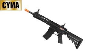 7. ATIRANDO  -  COLT M4A1 Elétrica . CYMA CM516  -  Airsoft 6mm