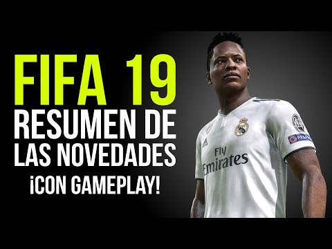 Las NOVEDADES De FIFA 19, GAMEPLAY, ULTIMATE TEAM Y KICK OFF