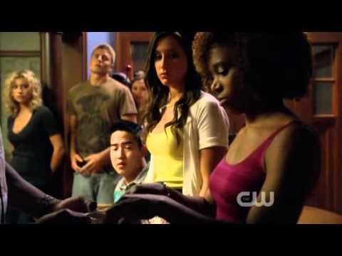 Hellcats - Aly Michalka & Ben Cotton - The Letter  - Season 1 episode 5