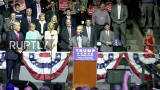 Clinton (MS) United States  city pictures gallery : USA: UK's Farage, Trump team up against Clinton during Mississippi rally