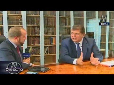 Alan García responde de todo: Odebrecht, AG, Cornejo, Madre Mía, Alberto Fujimori, indulto
