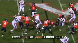 David Wilson vs Virginia (2011)
