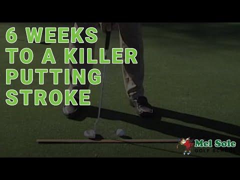 April 2008: 6 Weeks to a Killer Putting Stroke