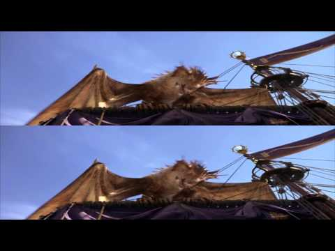 The Chronicles of Narnia The Voyage of the Dawn Treader 3D bluray trailer