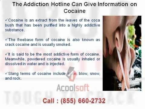 addiction hotline help
